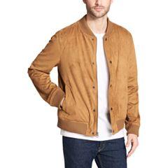 Men's Levi's Faux-Suede Varsity Bomber Jacket