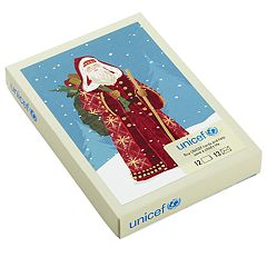 Hallmark UNICEF Classic St. Nick 12-Count Christmas Boxed Cards