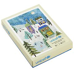 Hallmark UNICEF Holiday Scene 20-Count Christmas Boxed Cards