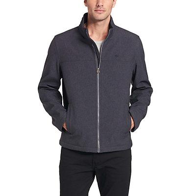 Men's Dockers Smart 360 FLEX Lightweight Softshell Stand Collar Jacket