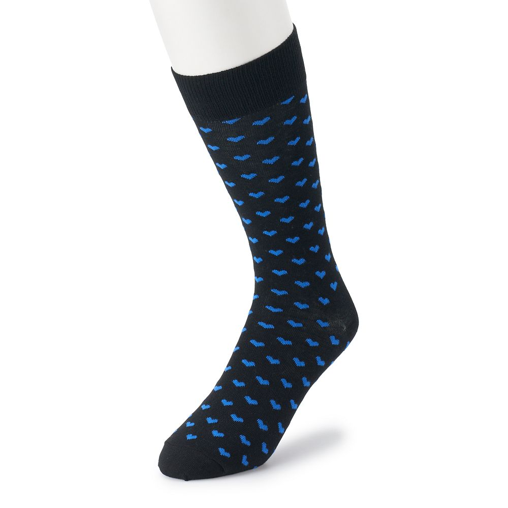 Men's HS by Happy Socks Mini-Heart Crew Socks