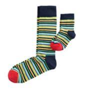 HS by Happy Socks Daddy & Me 2-pack Patterned Crew Sock Gift Box