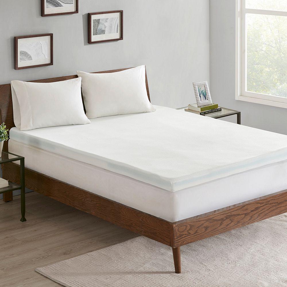 Sleep Philosophy 3-zone 3-in. Memory Foam Topper