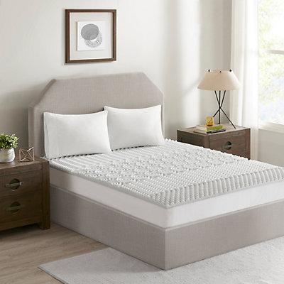 Flexapedic by Sleep Philosophy 1.5-in. Memory Foam Mattress Topper