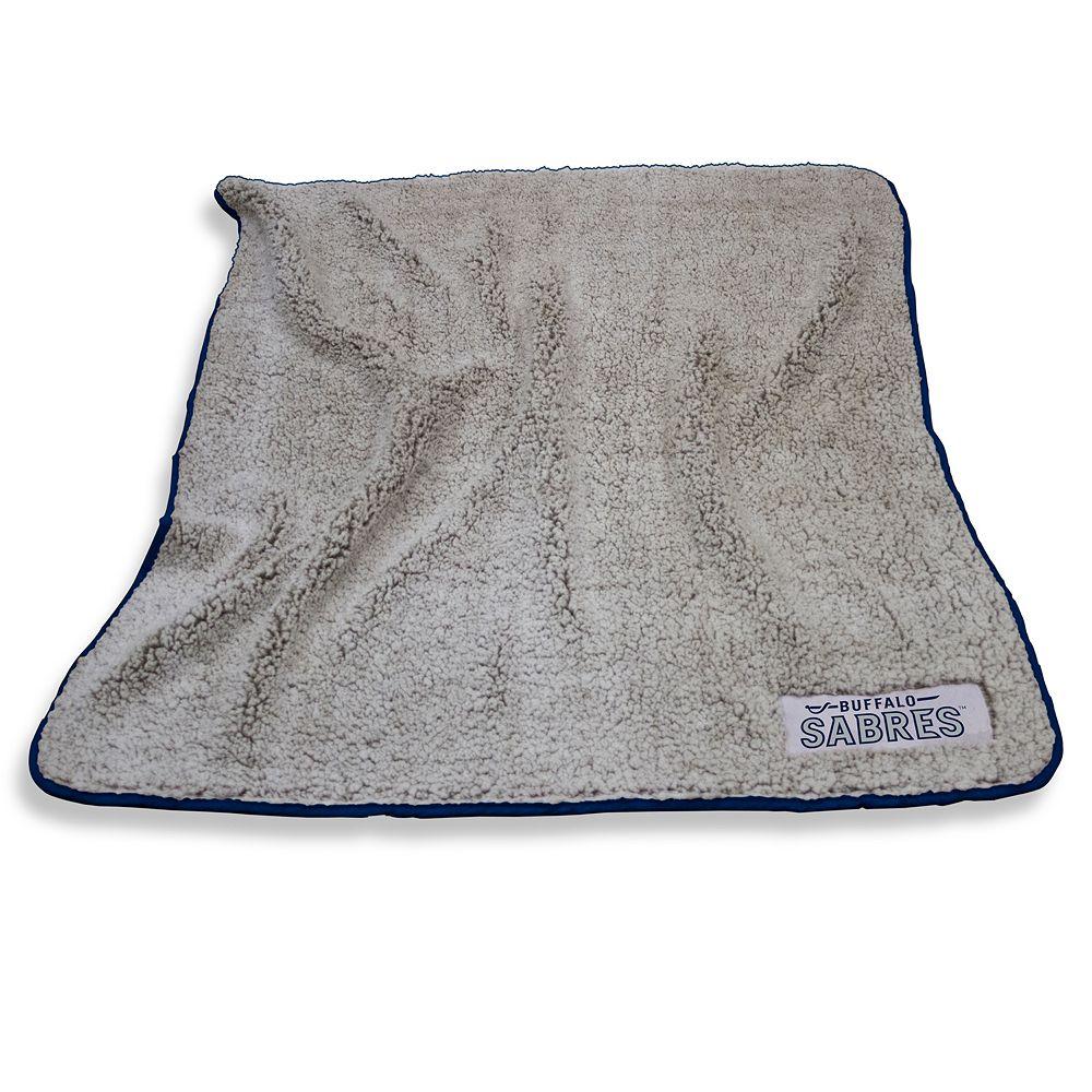 Logo Brands Buffalo Sabres Frosty Fleece Blanket