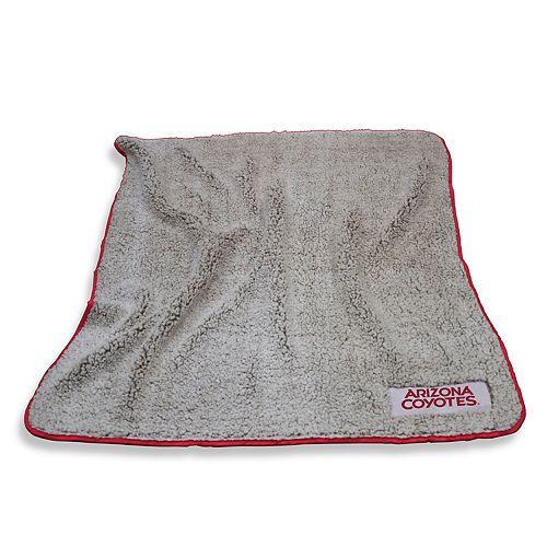 Logo Brands Arizona Coyotes Frosty Fleece Blanket