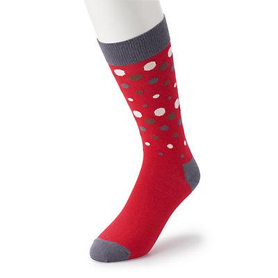 Men's HS by Happy Socks Dot Crew Socks
