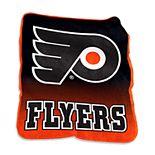 Logo Brands Philadelphia Flyers Raschel Throw Blanket