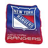Logo Brands New York Rangers Raschel Throw Blanket