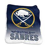 Logo Brands Buffalo Sabres Raschel Throw Blanket