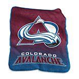 Logo Brands Colorado Avalanche Raschel Throw Blanket