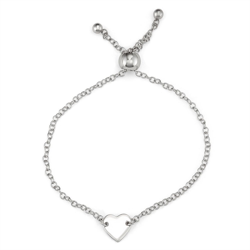 Charming Girl Heart Adjustable Bracelet