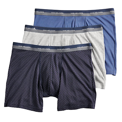 Men's Van Heusen 3-pack Cotton Boxer Briefs
