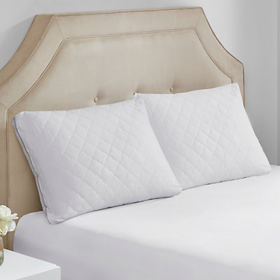Sleep Philosophy 2-pack Wonder Wool 300 Thread Count Cotton Pillow