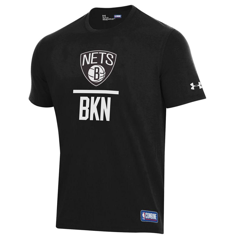 Men's Under Armour Brooklyn Nets Lock Up Tee