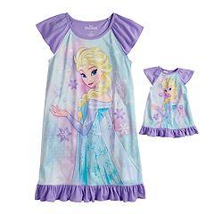 acb5b4404d38 Girls Matching Doll Set Kids Big Kids Sleepwear