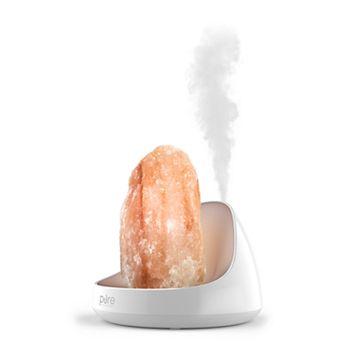 Pure Enrichment PureGlow 2-in-1 Himalayan Salt Lamp & Essential Oils Diffuser