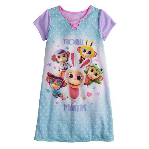 Girls 4-10 Wonder Park Dorm Nightgown