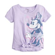 Disney's Minnie Mouse Toddler Girl Graphic Knot-Front Tee by Jumping Beans®