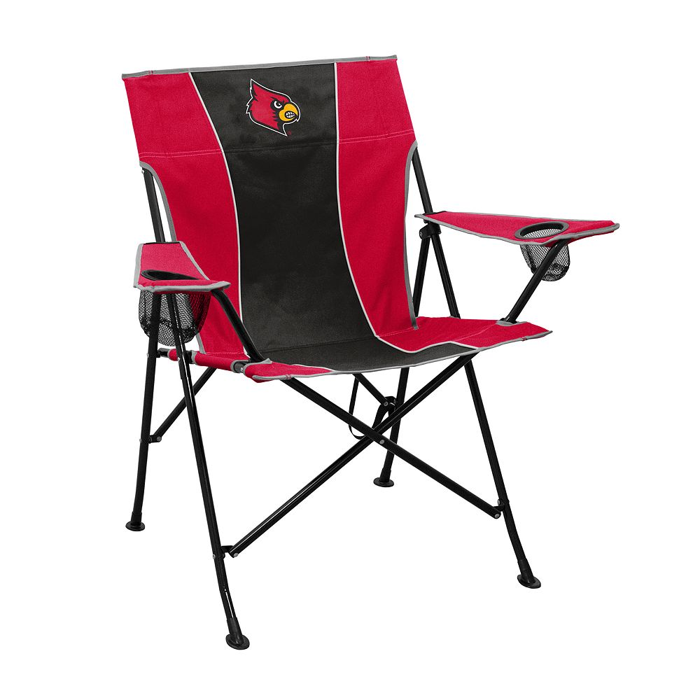 Louisville Cardinals Pregame Foldable Chair
