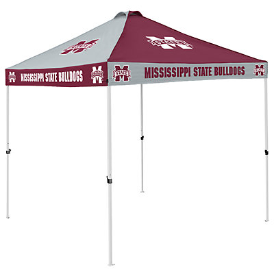 Mississippi State Bulldogs Checkered Canopy