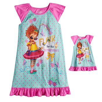 6760f5a54fc0 Disney s Fancy Nancy Girls 4-10 Nightgown   Matching Doll Gown