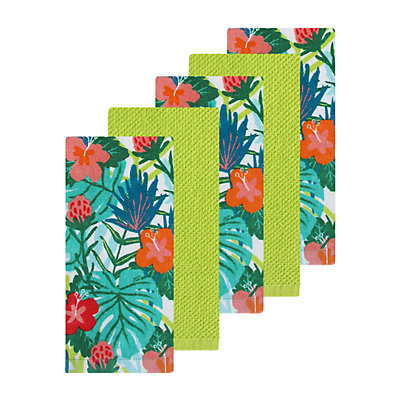 Celebrate Summer Together Tropical Kitchen Towel 5-pk.
