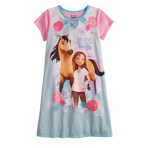 Girls 6-10 Spirit Dorm Nightgown