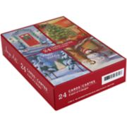 Image Arts 24-Count Home for the Holiday Assorted Christmas Cards