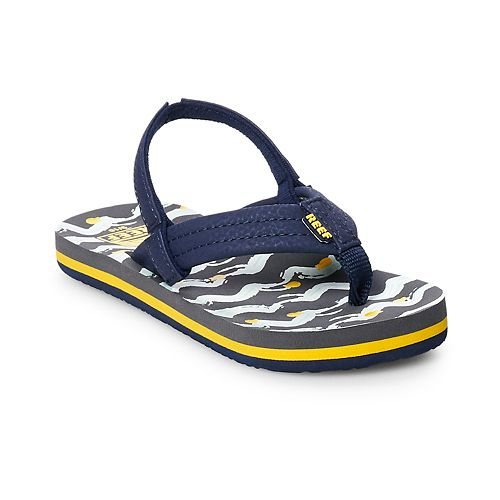 REEF Little Ahi Fish Toddler Flip Flop Sandals