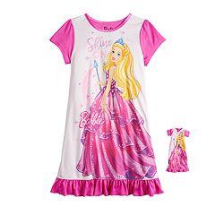 5e062c884f Girls 4-8 Barbie Dorm Nightgown   Doll Nightgown