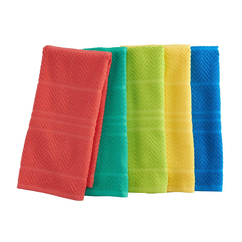 Celebrate Summer Together Kitchen Towel 5 Pk.