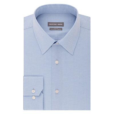 Men's Geoffrey Beene Extra-Slim Fit Stretch Flex Point-Collar Dress Shirt