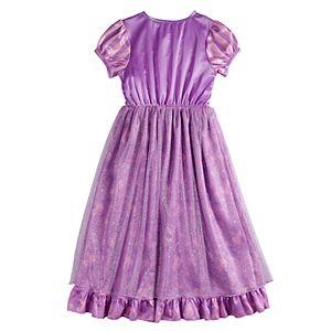 Disney's Tangled Rapunzel Girls 4-8 Fantasy Nightgown