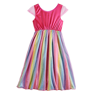 Girls 4-8 Barbie Fantasy Nightgown