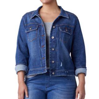 Plus Size Lee Authentic Jean Jacket