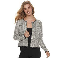 Women's ELLE™ Short Boucle Coatigan