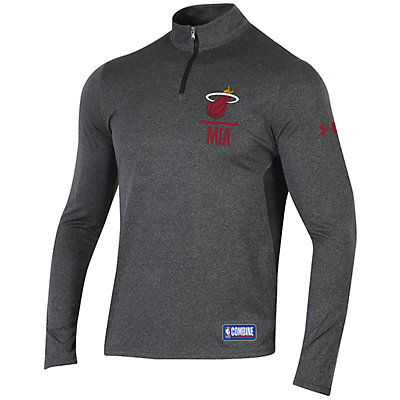 Men's Under Armour Miami Heat Authority Pullover
