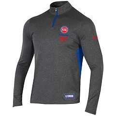 Men's Under Armour Detroit Pistons Authority Pullover