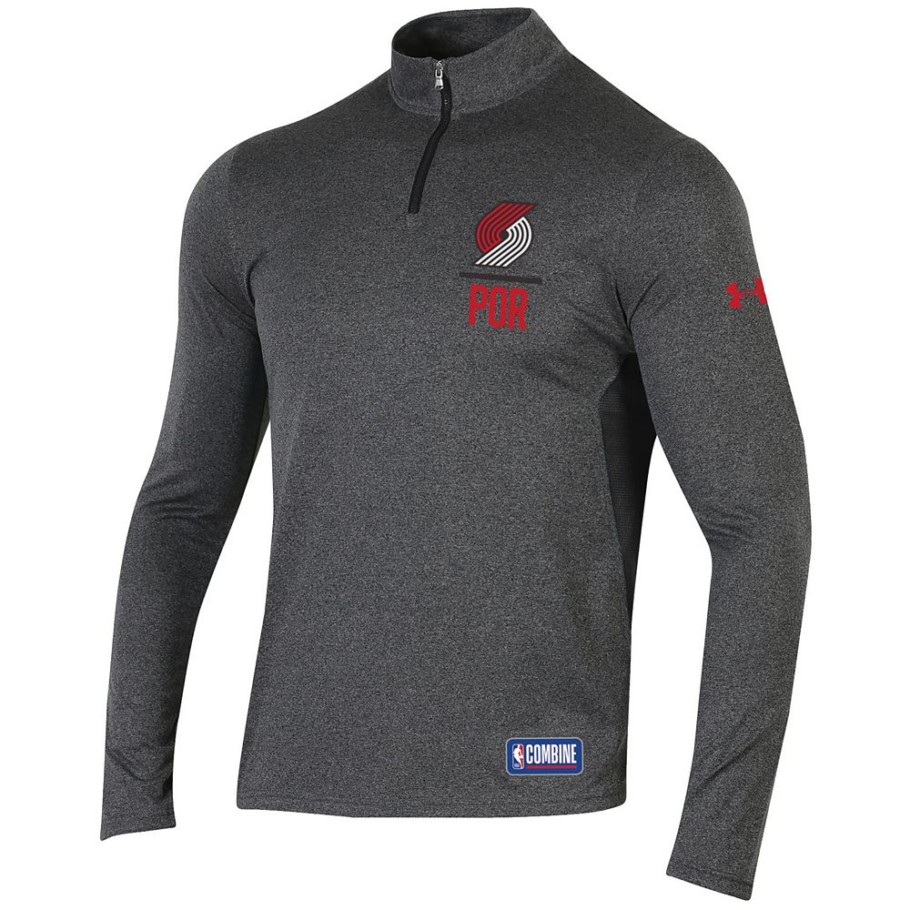 Men's Under Armour Portland Trail Blazers Authority Pullover