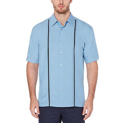 Big & Tall Cubavera Classic-Fit Jacquard Easy-Care Button-Down Shirt