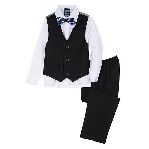 bde173d30 Toddler Boy IZOD Holiday Vest, Shirt, Bow Tie & Pants Set