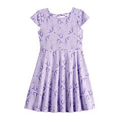 79774634f Girls 4-12 Jumping Beans® Print Skater Dress
