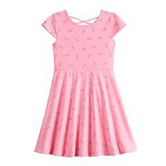 b6e63ecc5d8 Girls 4-12 Jumping Beans® Print Skater Dress