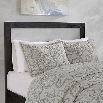 Natori Kira 3-piece Cotton Coverlet Set