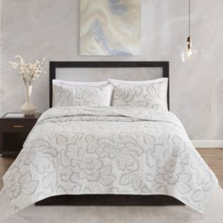 Natori Kira 3-piece Cotton Coverlet Set