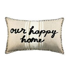 SONOMA Goods for Life™ Happy Home Feather Fill Oblong Throw Pillow
