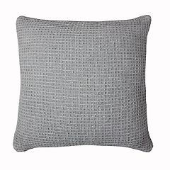 SONOMA Goods for Life™ Waffle Stone Wash Feather Fill Throw Pillow