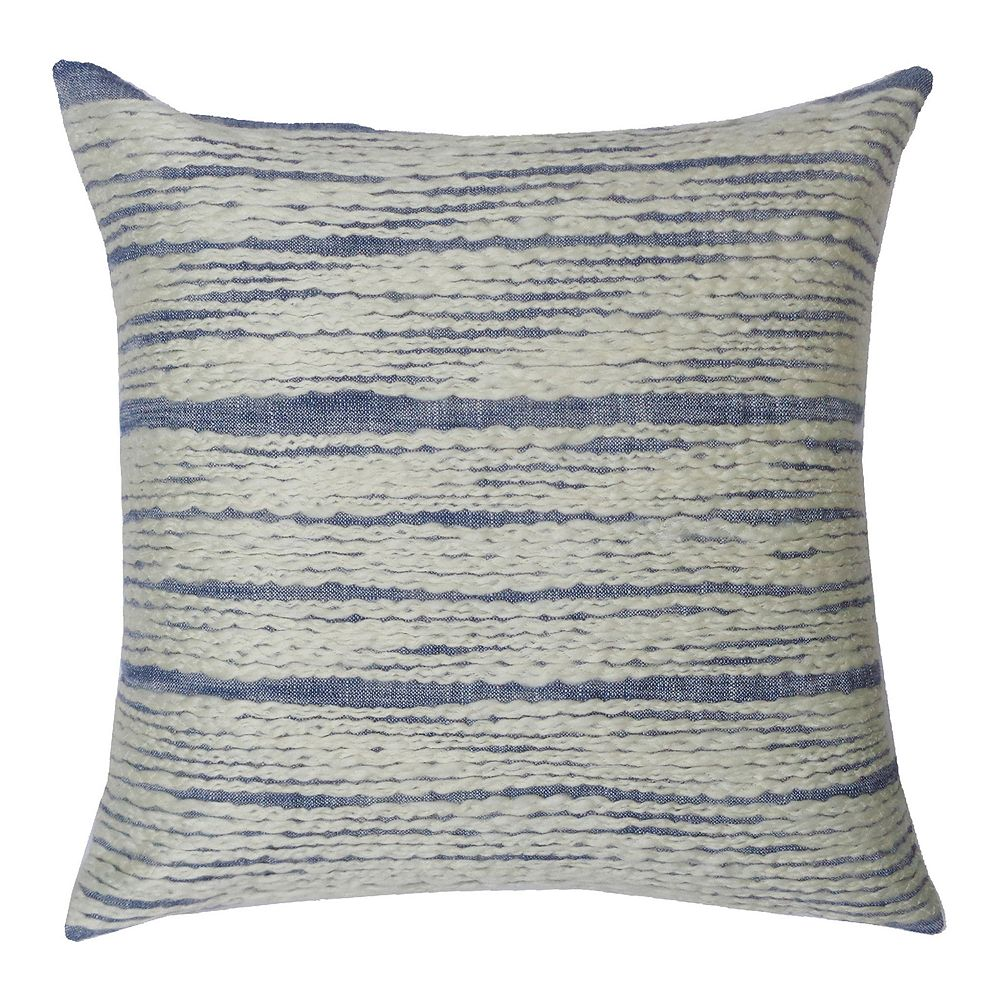 SONOMA Goods for Life® Ultimate Chambray Embroidered Feather Fill Throw Pillow