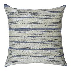 SONOMA Goods for Life™ Chambray Embroidered Feather Fill Throw Pillow